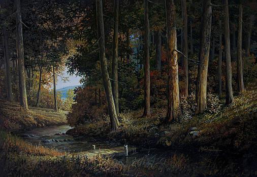 Forest Landscape by Mardare Constantin Cristi