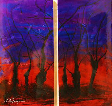 Forest Night by Roger Ferguson