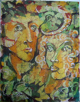 Forest People by Nadejda Lilova