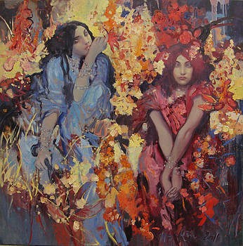 Forest Spirits by Svetlana Tiourina