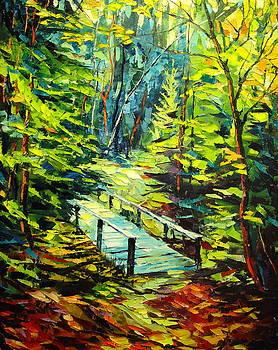 Forest Trail by Keren Gorzhaltsan