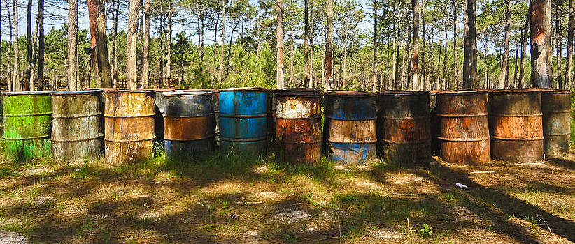 Nabucodonosor Perez - Forgotten barrels