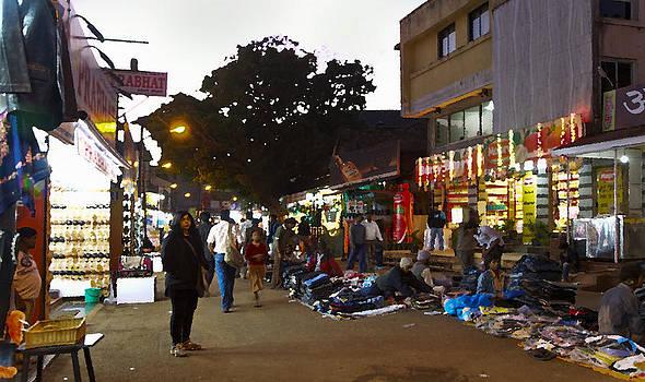 Kantilal Patel - Forlone figure Market Street