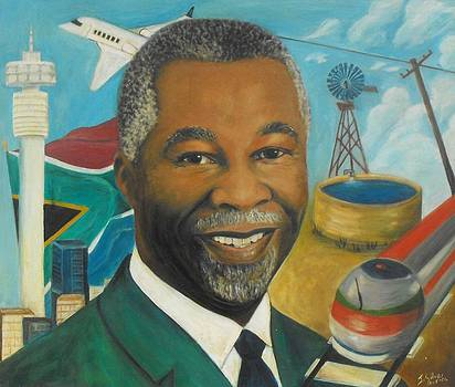Former Pres. Mbeki - Election 2005 by Jeanne Silver
