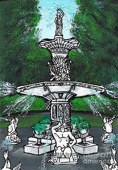 Forsyth Park Fountain by Kris Sperring