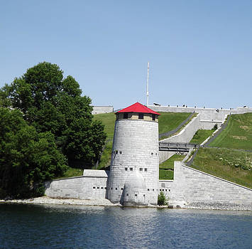 Fort Henry from the water by Jim Beattie