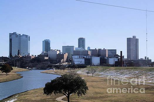 Fort Worth Skyline by Kelly Christiansen