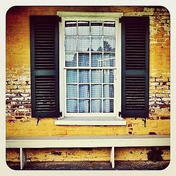 #fortmifflin #window #earlybird by Robyn Montella