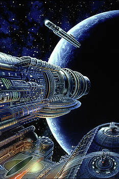 Foundation Trilogy by Don Dixon