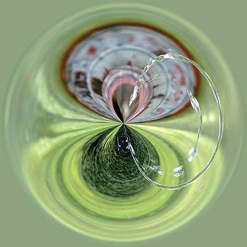 Fountain Orb by Sandi Blood