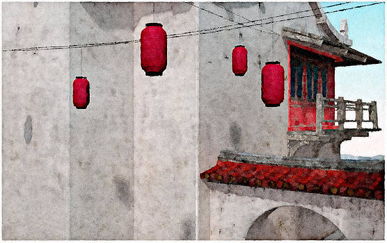 Four Lanterns by Peter J Sucy