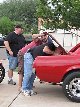 Four Men And The Stang by Patty Descalzi