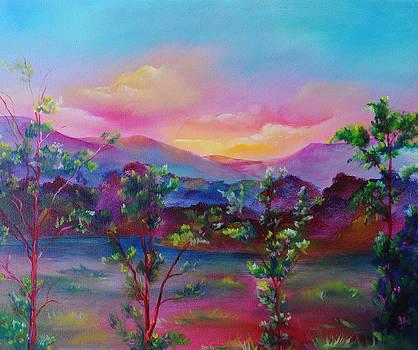 Four Oaks by Cyrene Swallow