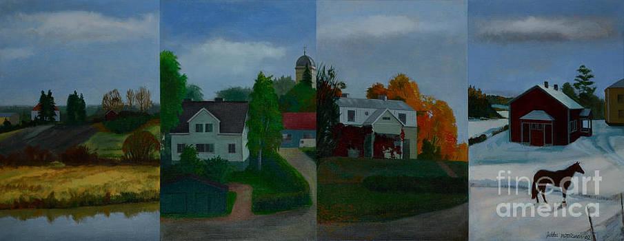 Four Seasons by Jukka Nopsanen