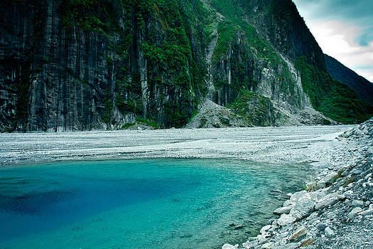 Fox Glacier Tarns 1 by Jonathan Hansen