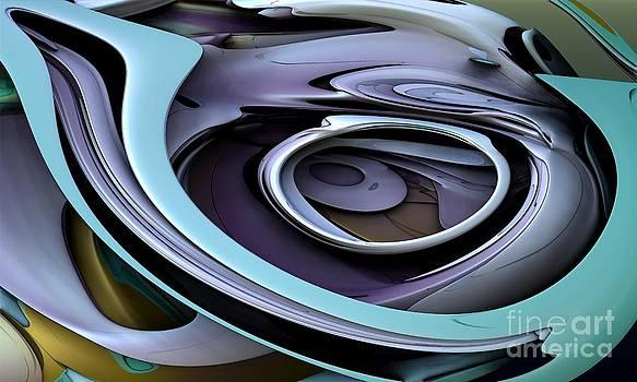Fractal - Steel by Bernard MICHEL