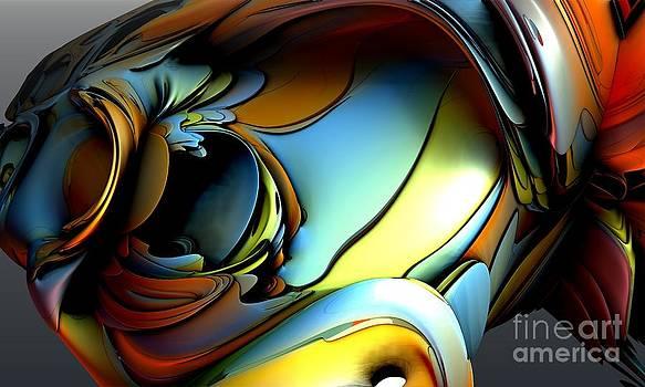 Fractal - Clown Face by Bernard MICHEL