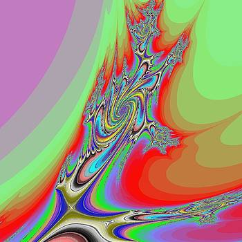 Fractal Galaxy x1000.000 by Nicolaas Vroom