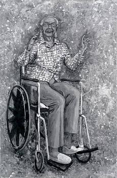 Francis 102 Years Old by Joanna  Katz