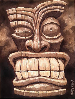 Freaky Tiki Man 1 by Trey Surtees