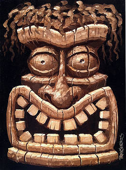 Freaky Tiki Man 2 by Trey Surtees