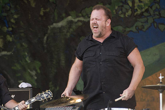 Fred LeBlanc of Cowboy Mouth by Terry Finegan