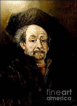 Free Rembrandt copy by Tina Art