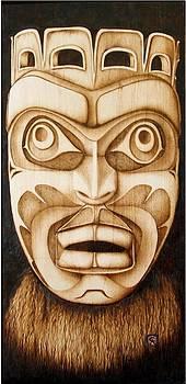 Free Spirit Mask by Cynthia Adams