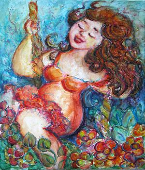 Free swinging by Zina Chmielowski