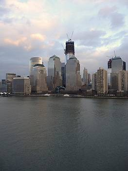 Freedom Tower Emerges by Rita Tortorelli
