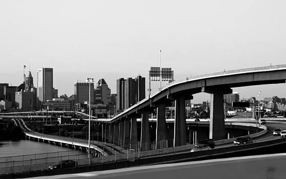 Freeways of Baltimore by Elizabeth Richardson