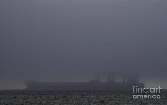 Tim Mulina - Freighter in Fog