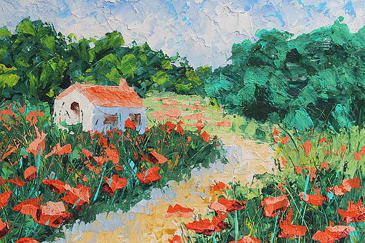 French Cottage by Courtney Hancock