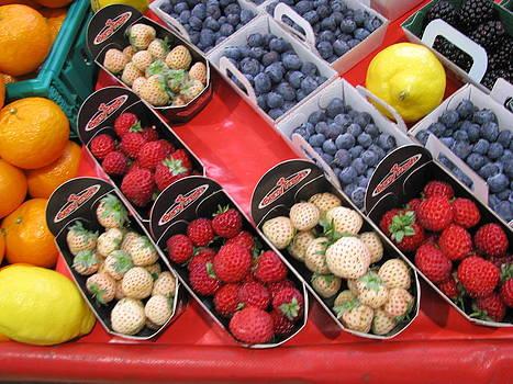 French Farmer's Market by Monica Cranswick