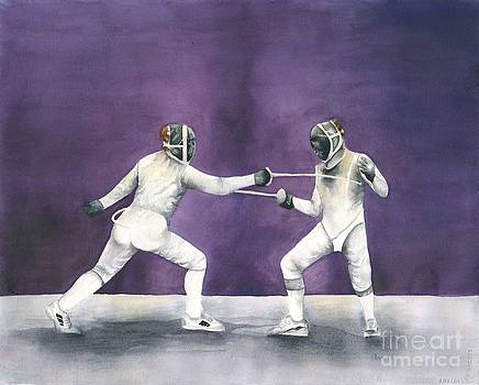 French Fencing Competition by Laura Ramsey