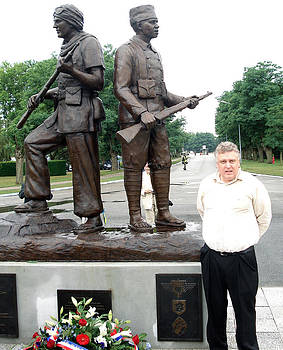 French Freedom Fighters Monument Statue by Stan Watts