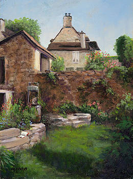 French Garden by Mary Phelps