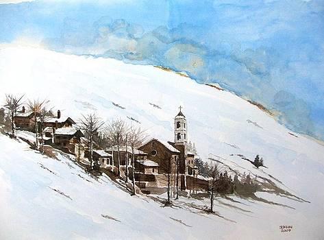 French village by Samir Sokhn