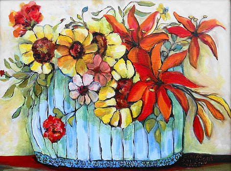Fresh Flowers by Claire Sallenger Martin