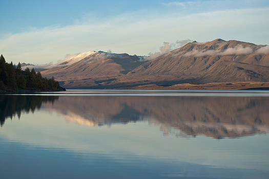 Fresh Snow Reflections  by Graeme Knox