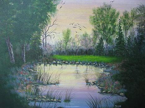Fresh Spring by Betty Reineke