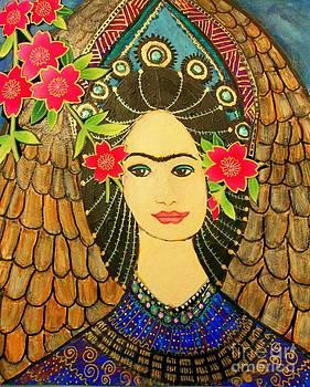 Frida Awaiting My White Wings by Viva La Vida Galeria Gloria