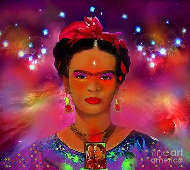 Frida In The Sky With Diamonds by Mucha Kachidza