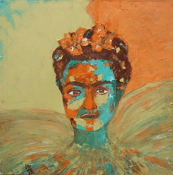 Frida Kahlo by Rosemen Elsayad