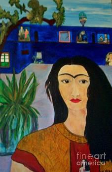 Frida returning home  by Viva La Vida Galeria Gloria