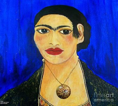 Frida's Birthday July 6 number 2 by Viva La Vida Galeria Gloria