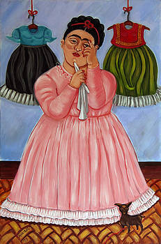 Frida's dresses by Marisol DAndrea