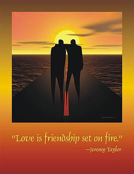 Walter Oliver Neal - Friendship Poster