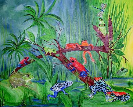 Frogs by Sabrina Logan