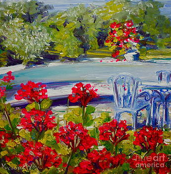 Yvonne Ayoub - From the Lower Terrace